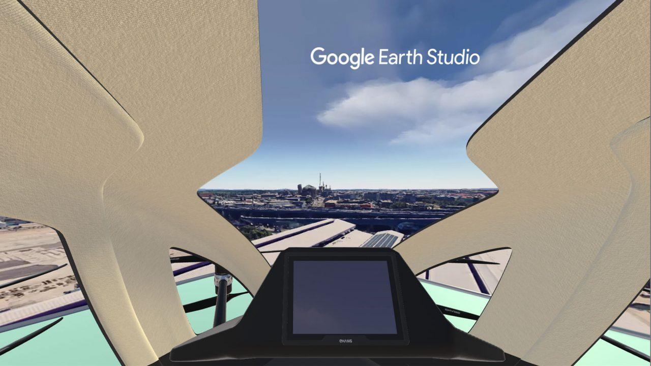 Step 8: Google Logo hinzufügen (sonst gibt's von Google eins auf den Deckel) und losfliegen.