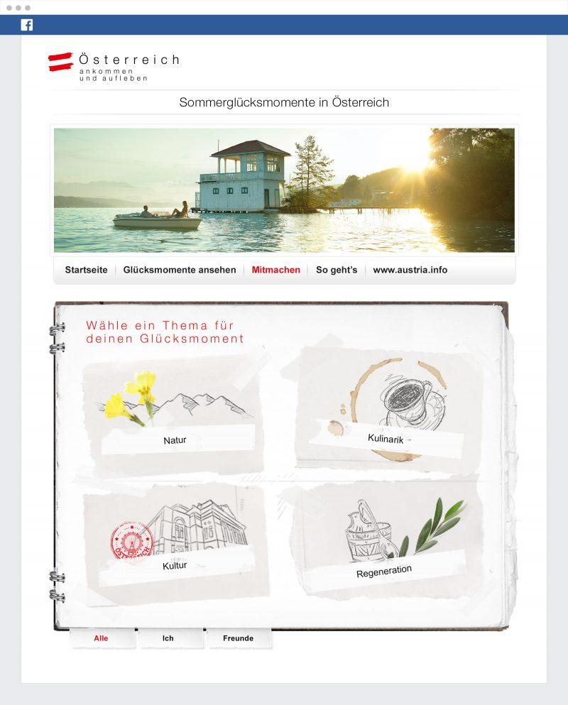 österreich werbung sommerglück kampagne