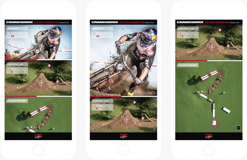red bull crankworkx mobile browser app