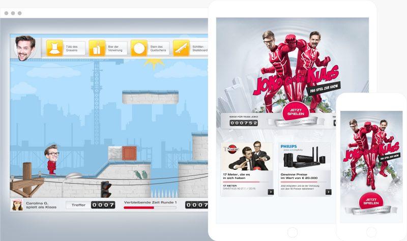 joko vs klaas online browser game multiplayer