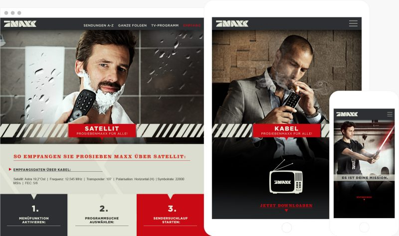 maxxtune website mobile