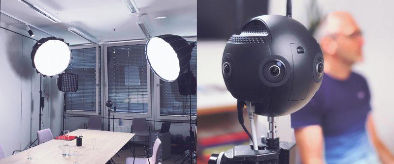 Wien Energie VR Shooting