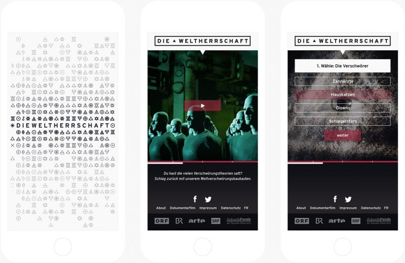 die Weltherrschaft tv dokumentarfilm interaktiv